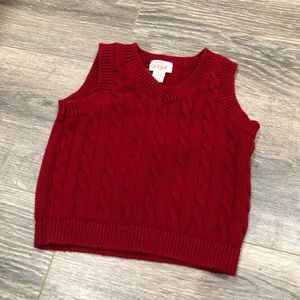 Cat and Jack Boy's Cable Knit Sweater Vest